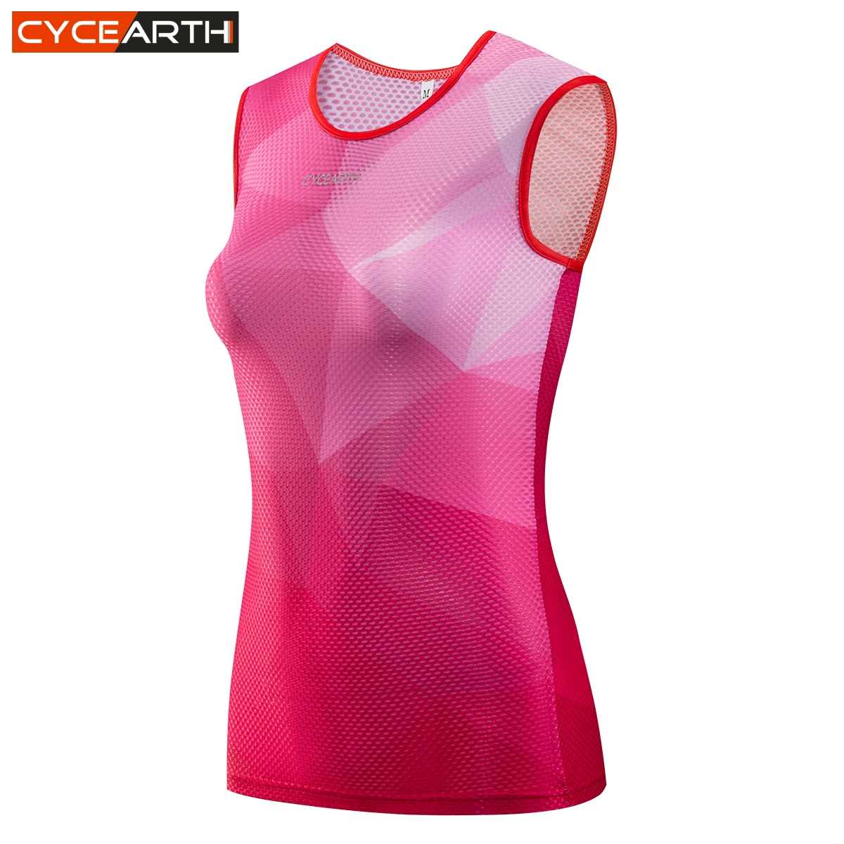 CYCEARTH 2018 Women Cycling Base Layer Jerseys Dry Mesh Sleeveless Clothing  Road MTB Bike Underwear Outdoor Sports Shirt 835016b7c