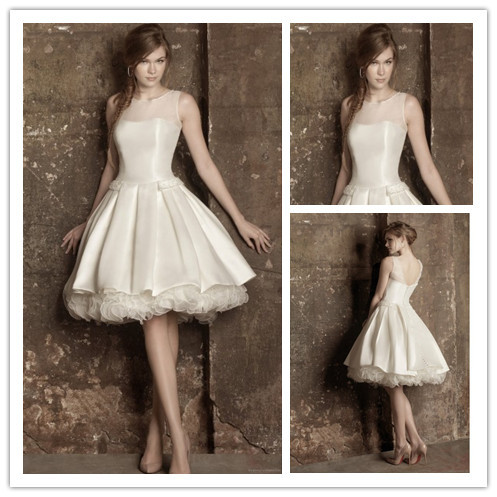 Online Buy Wholesale short corset wedding dresses from China short ...