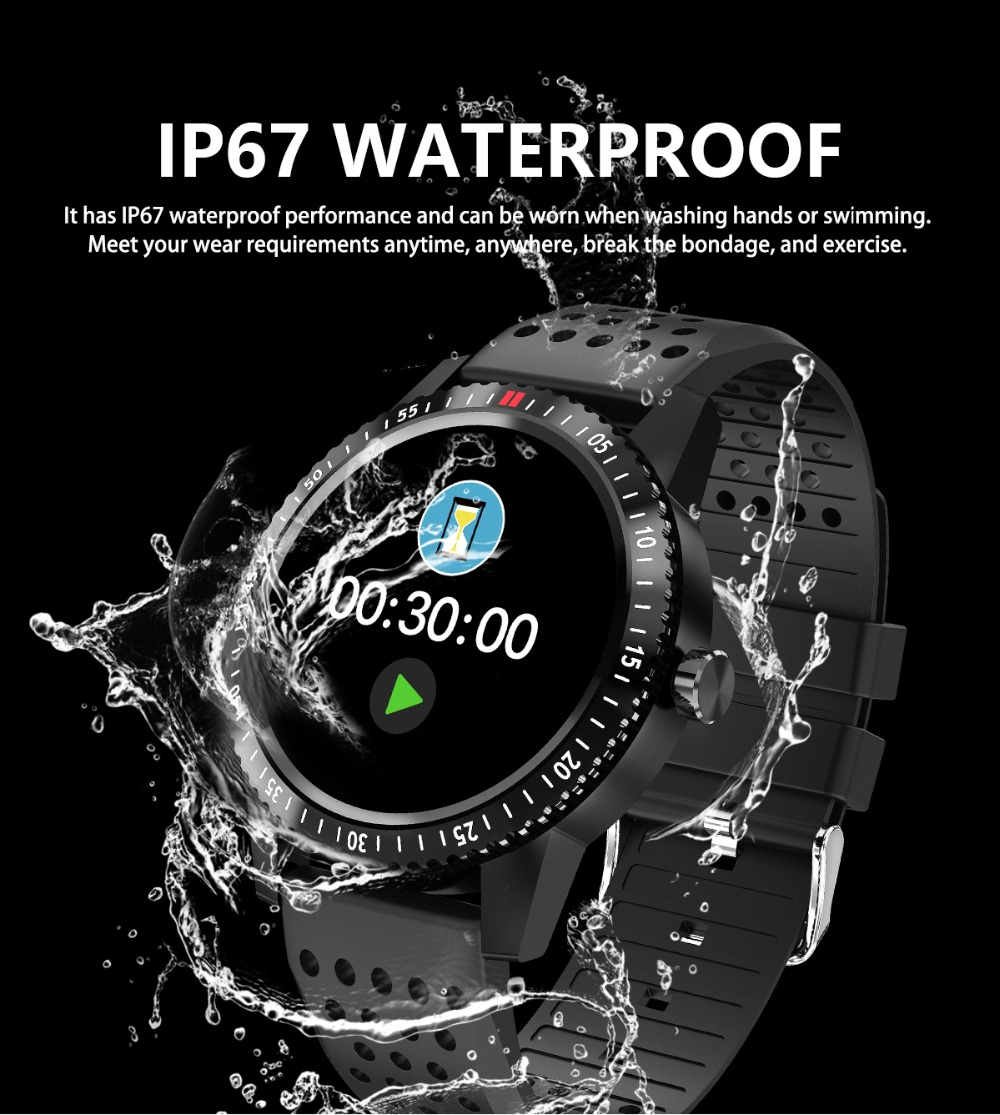 DIGOOR Smart Watch women IP67 waterproof Support Blood pressure  Women Cycle monitoring GPS tracker Heart rate Fitness bracelet Smartwatch (6)