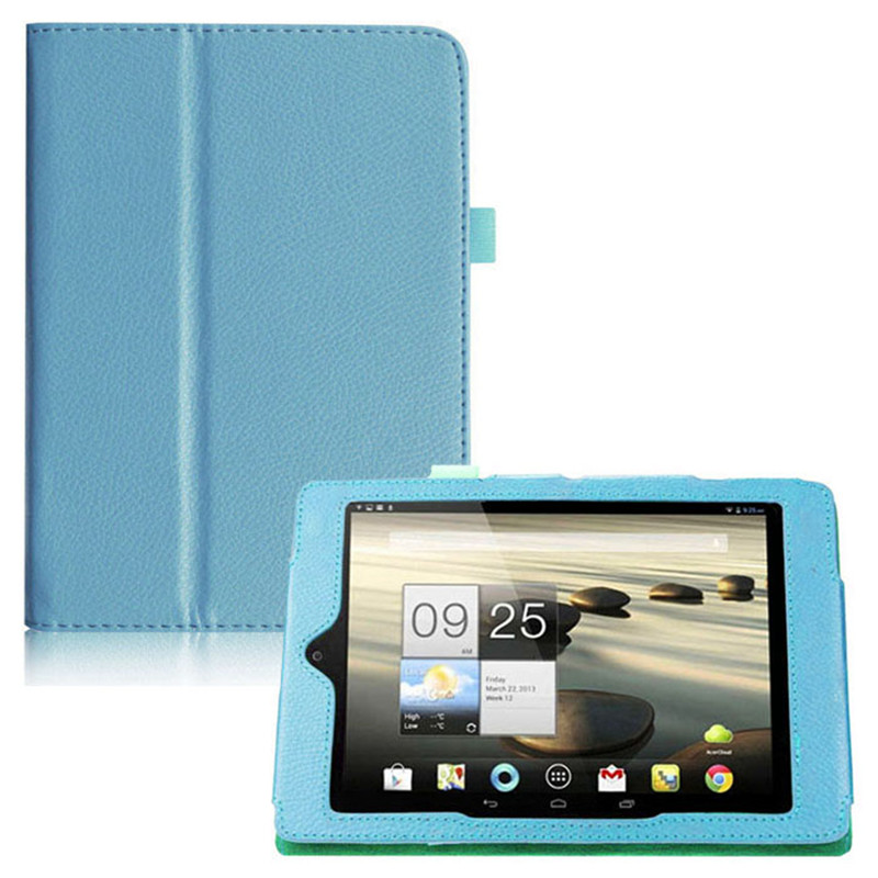 Litchi Pattern Pu Leather Stand Case Cover For Acer Iconia Tab A1-810 Tablet  Book Case For Acer A1-811 7.9 inch Accessories srjtek 7 9 for acer iconia tab a1 810 a1 810 a1 811 a1 811 lcd display touch screen digitizer glass assembly b080xat01 1