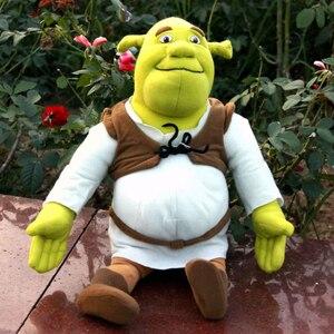 Image 5 - 40cm muñeca de La felpa de Shrek juguete de peluche películas TV juguetes de peluche DSN de muñeca de La felpa de peluche de juguete juguetes navideños para niños regalos para niños