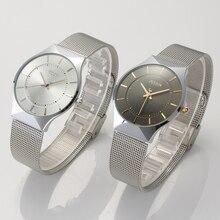 Luxury Brand Julius Men Watches Analog Quartz Watch Fashion Ultra Thin Business Waterproof Sport Men's Casual Wrist Watch