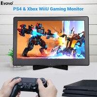 Eyoyo EM13M 13.3 Inch 1920x1080 IPS HDMI Display Portable Gaming Monitor 4K for PC Computer PS3 PS4 WiiU xbox360 Raspberry Pie