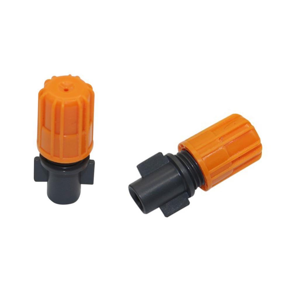 360 Degree 6mm Inner Diameter Atomization Misting Sprinklers Garden Water Irrigation Humidification Fog Nozzles 10 Pcs
