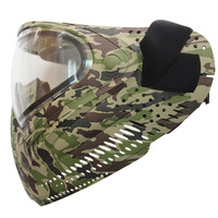 Airsoft Mask Paintball Mask with Anti Fog Double Lens Camouflage CS Training Mask Halloween Party Cosplay Mask