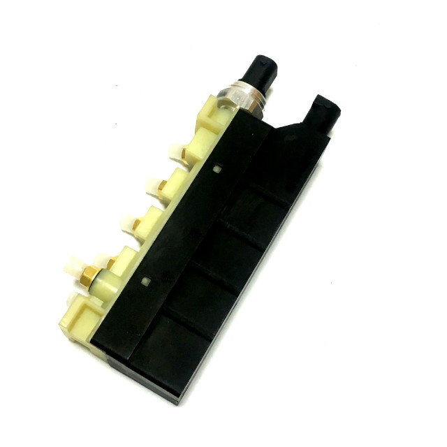 Image 3 - New Air Suspension Solenoid Valve Block Air Ride Controller For Jaguar XJ 2003 2009 C2C2265-in Shock Absorber& Struts from Automobiles & Motorcycles
