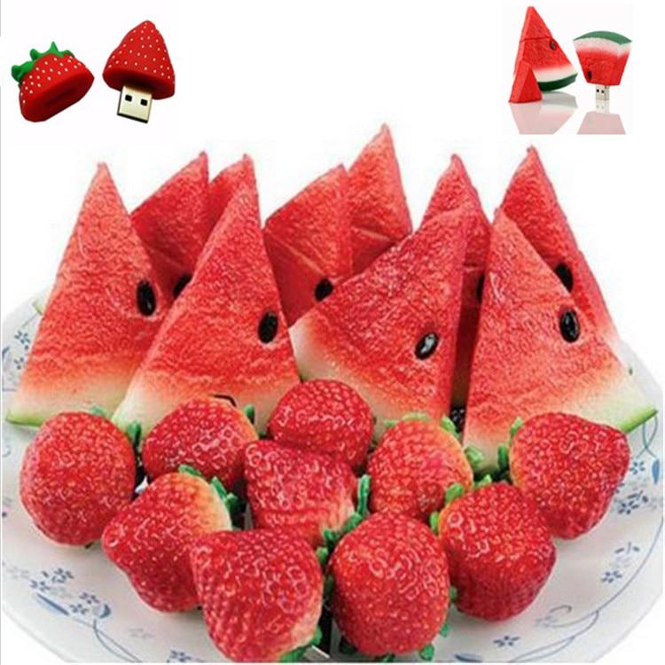 font b USB b font 3 0 fruit cute pendrive cartoon strawberry font b usb