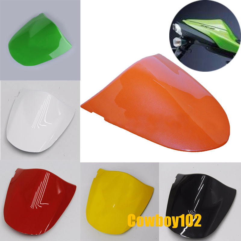 6 Colors Motorcycle Rear Passenger Seat Cowl Fairing Protector Cover For Kawasaki ZX-6R ZX 6R 2003-2004 Z1000 Z750 03 04 05 06 for yamaha yzf 1000 r1 2004 2005 2006 motorbike seat cover motorcycle yellow fairing rear sear cowl cover free shipping