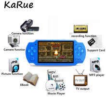 KaRue 4.3 Inch Ultra-Thin 8GB Memory Ebook handheld game player Video Game Console MP5 Music Player Take pictures game console
