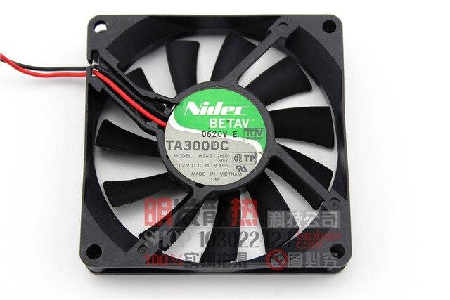 12 V 0.18A H34612-55 8015 ultra fino tipo CPU radiador ventilador silencioso