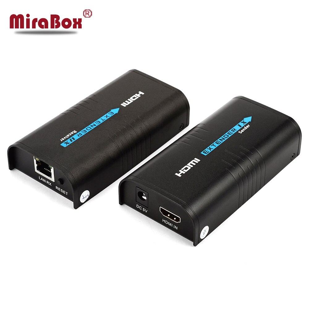 TCP IP HDMI Extender 1 Émetteur N Récepteur 100 m 200ft TX RX 1080 P Sur Cat5/Cat5e/Cat6 STP UTP Rj45 HDMI Sur IP Extender