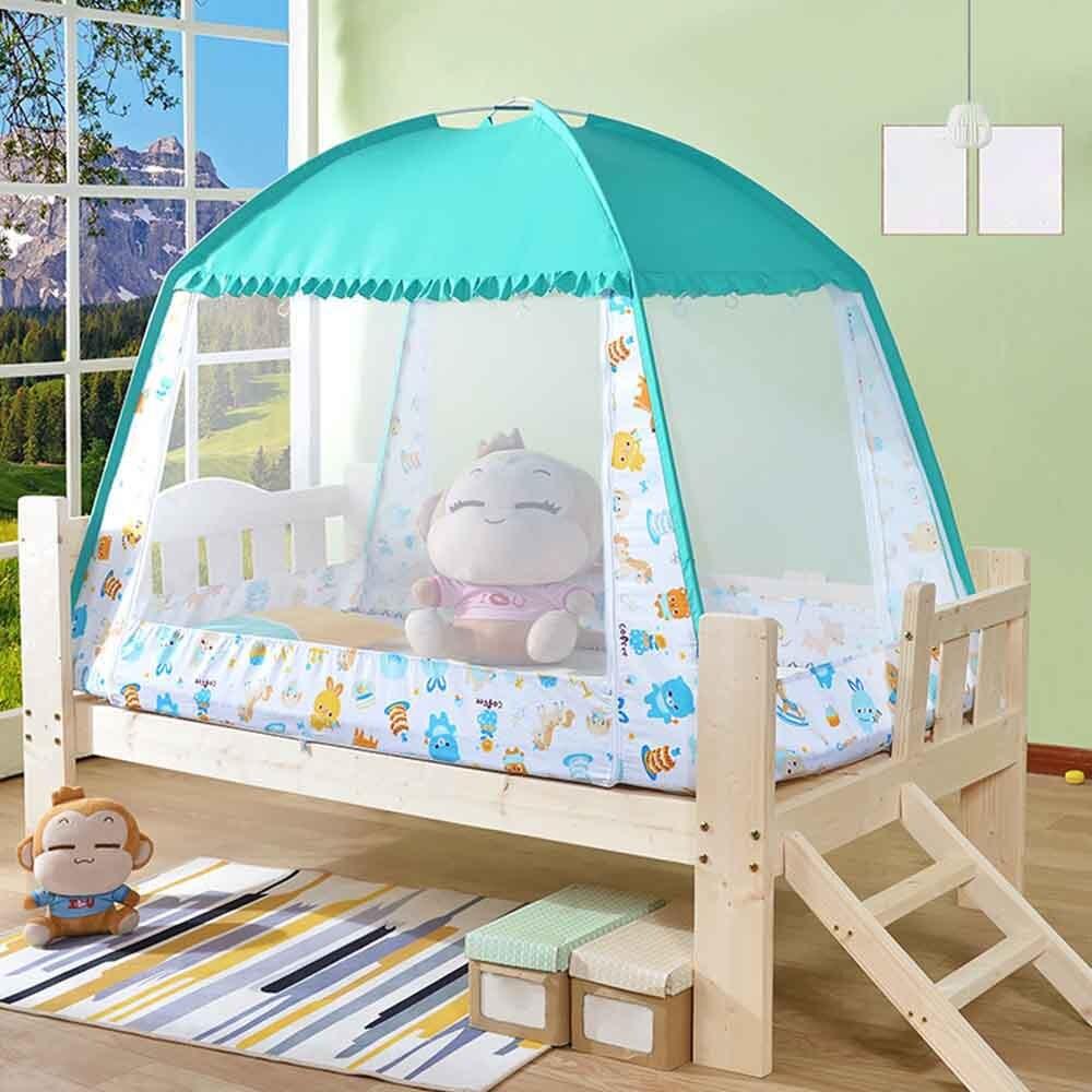 Moustiquaire pliante enfants balle Pit tente pour enfants jeu jouer château tente avec Portable sac fourre-tout pour enfants meubles maison chambre