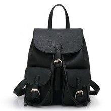 ETN BAG горячей продажи бренда высокого качества женщины ИСКУССТВЕННАЯ Кожа рюкзак девушки небольшой старинные рюкзак леди повседневная туристические рюкзаки