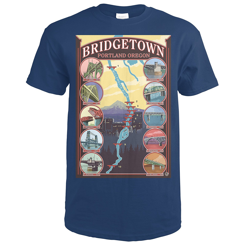 Возьмите мосты Портленд, штат Орегон (Премиум футболка) ...