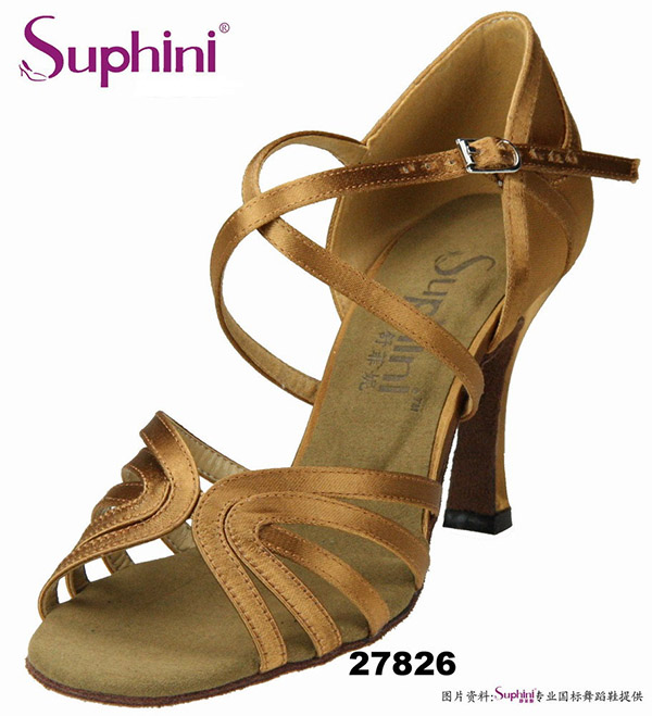 Free Shipping Suphini Professional Latin Dance Shoes Flexible Sole Woma Dance Shoes bohemia style faux gem flower enamel bead tassel pendant necklace