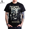 cheap men t-shirt fashion shirt men casual shirt My Chemical Romance THE BLACK PARADE Sketched Graphic Mens Black T Shirt