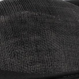 Бирюзовый синий головной убор Sinamay шляпа с пером хороший свадебный головной убор красные свадебные шапки очень хороший 20 цветов можно выбрать MSF094 - Цвет: Черный