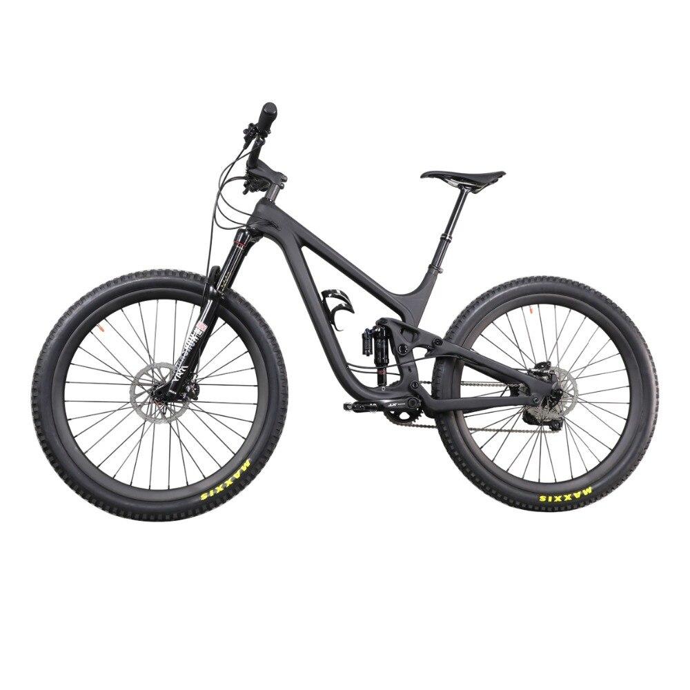 11.11 2019 Carbon 27.5ER PLUS Enduro Suspension Mtb Bike Travel 150mm Boost Endurance Carbon Mountain Bicycle