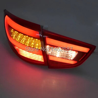 Free Shiping 12V 6000k LED Rear Light For Hyundai Ix35 2010 2012 Car Taillight Lamps Auto