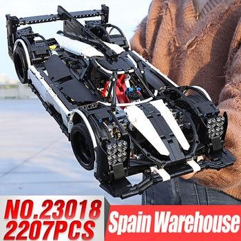 2019 New 23018 Moc 5530 Hybrid Technic Series Super Racing Car Blocks Bricks Building Educational Toys Model Gifts Funny number