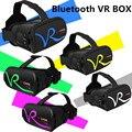 """2017 НОВЫЙ Bluetooth VR КОРОБКА 3D Виртуальной Реальности Очки Google Картон 3D Фильм Игры для ios/Android 4.7 """"-6.0"""" смартфон"""