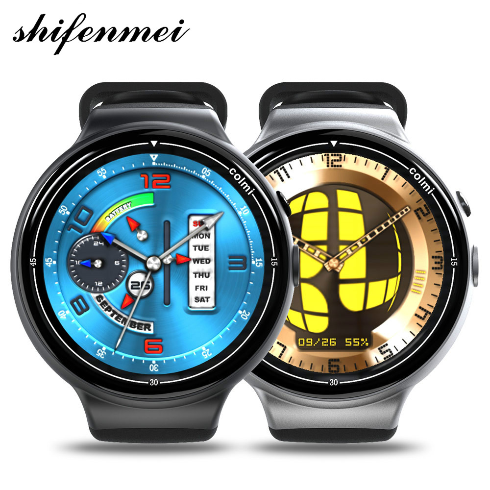 2018 Flagship Smart Watch Ram 2GB Rom 16GB 2MP WIFI 3G GPS Heart Rate Monitor Quad Core Android Smartwatch Bands New Sprot недорого