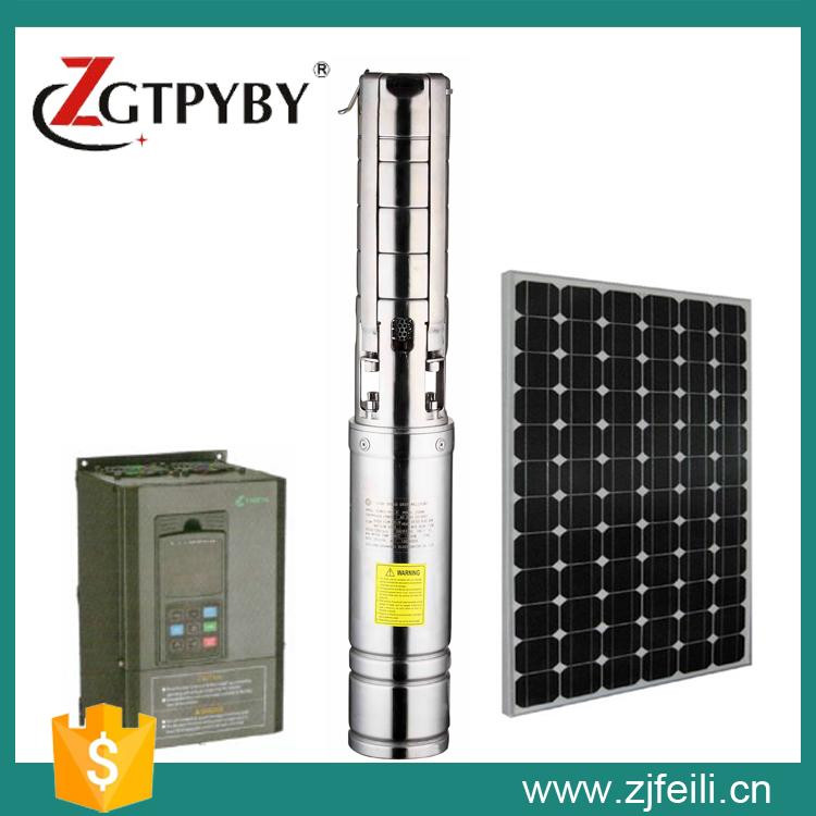 solar pump set exported to 58 Countries solar submersible pump