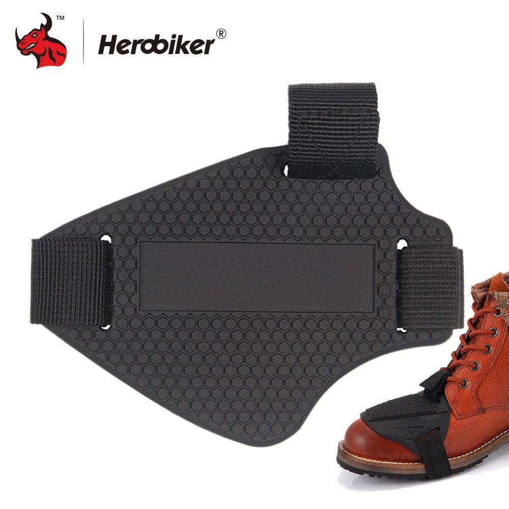 Motorrad-Schuhabdeckung Motorrad-Gangschaltung Pad Schutz Stiefel Abdeckung