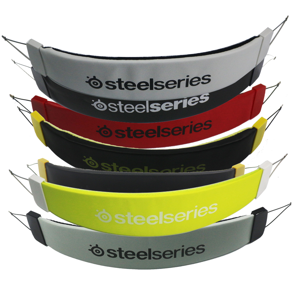 High Quality Replacement Leather Headband Cushion Pad With All kinds Of Colours For <font><b>Steelseries</b></font> <font><b>Siberia</b></font> <font><b>200</b></font> Head Beam Headset image
