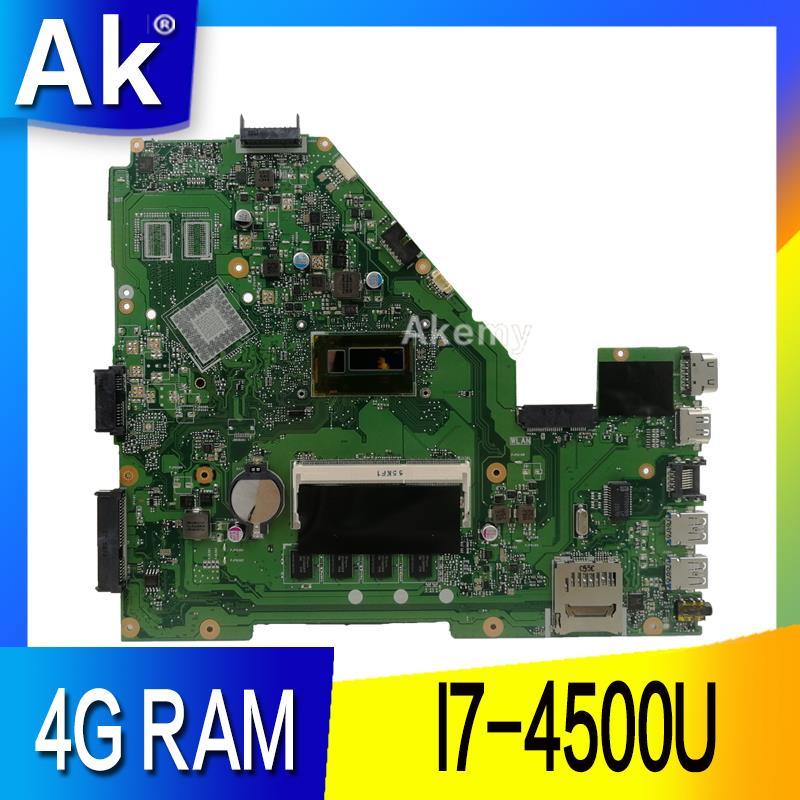AK X550LA carte mère D'ordinateur Portable pour ASUS X550LA X550LD X550LC Y581L A550L R510L Y583L Test carte mère d'origine 4G RAM I7 4500U-in Cartes mères from Ordinateur et bureautique on AliExpress - 11.11_Double 11_Singles' Day 1