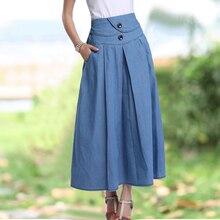 élastique jupe longue S-XL