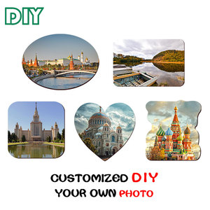 Image 2 - 10pcs Soft Fridge Magnets DIY personalized photo picture printed Stickers on the Fridge Refrigerator Magnets Lot