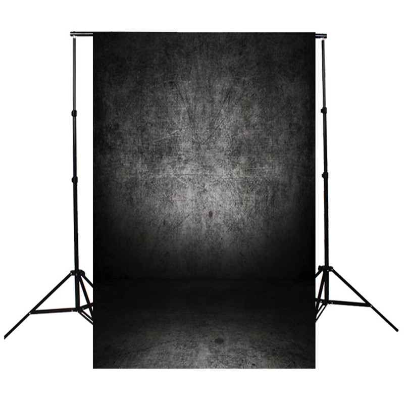 8x12FT Vinyl Photography Background For Studio Photo Props Dark Grey Concrete Wall Custom Photographic Backdrops 2.4mx3.75m dark brown brick wall with white clock photography backdrops wedding background 200x300cm photo studio props fotografia