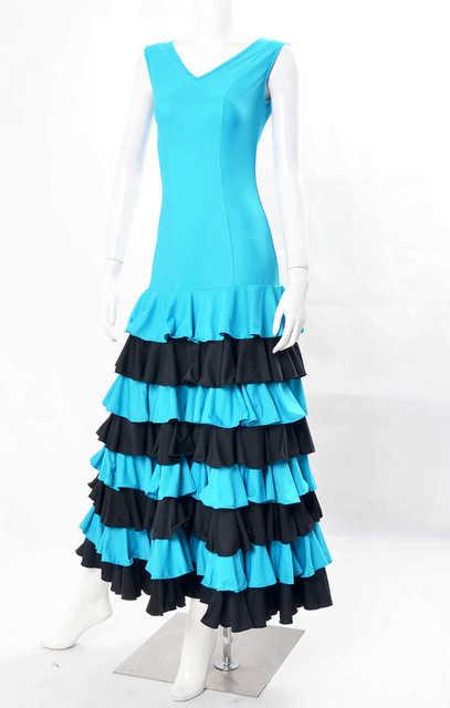 Blauw met zwarte jurk ad