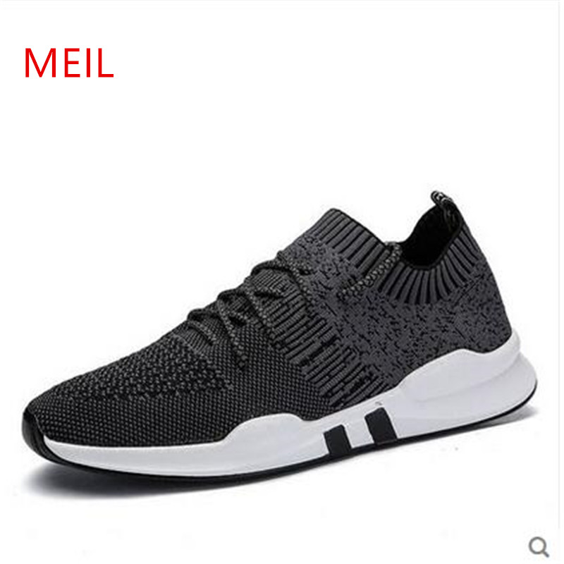 2018 marque chaussures décontractées hommes baskets été tenis baskets respirant maille formateur Chaussure Adulto Chaussure Homme chaussures hommes