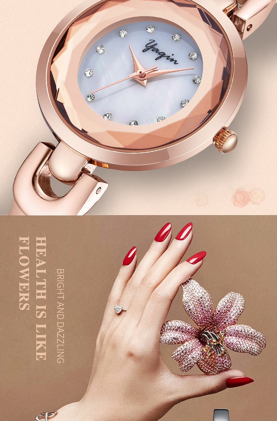 Nieuwe mode vrouwen quartz horloges casual jurk meisjes horloges - Dameshorloges - Foto 4