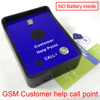 GSM emergency help calling phone GSM service intercom help call point