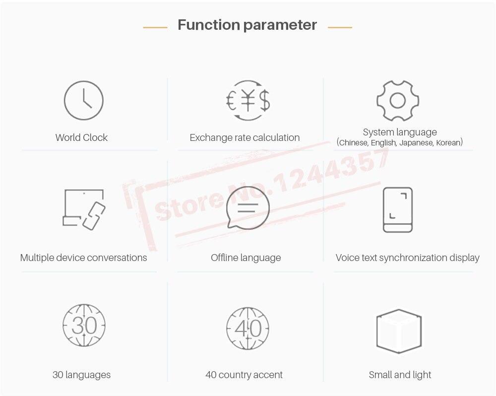 Aliexpress Buy Portable Language Translator Two Way
