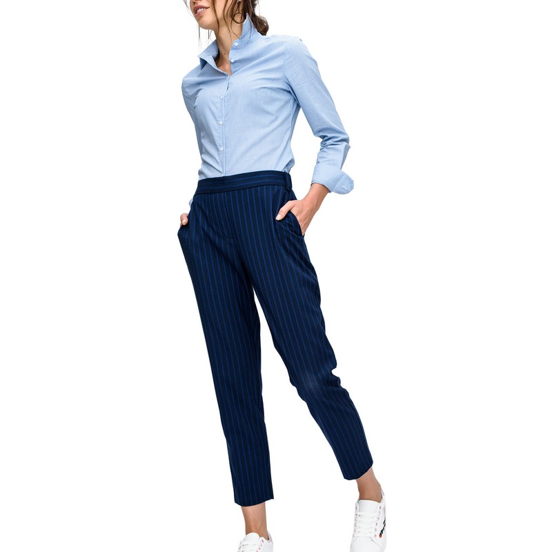 Pants & Capris befree 1731485743 woman polyester trousers women clothes apparel for female TmallFS fashion harem denim pants women ripped holes female jeans 2017 s 5xl oversized vaqueros with pockets jean trousers new pantalon