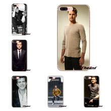 For Samsung Galaxy J1 J2 J3 J4 J5 J6 J7 J8 Plus 2018 Prime 2015 2016 2017 Mobile Phone Case Joshua Jackson Binge watching Fringe(China)