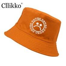 Cllikko mens Panama Bucket sombreros carta boonie sombrero triste Bob 9  cubo estilo HipHop sombrero Panamá sombreros de las muje. 8162d1059a9