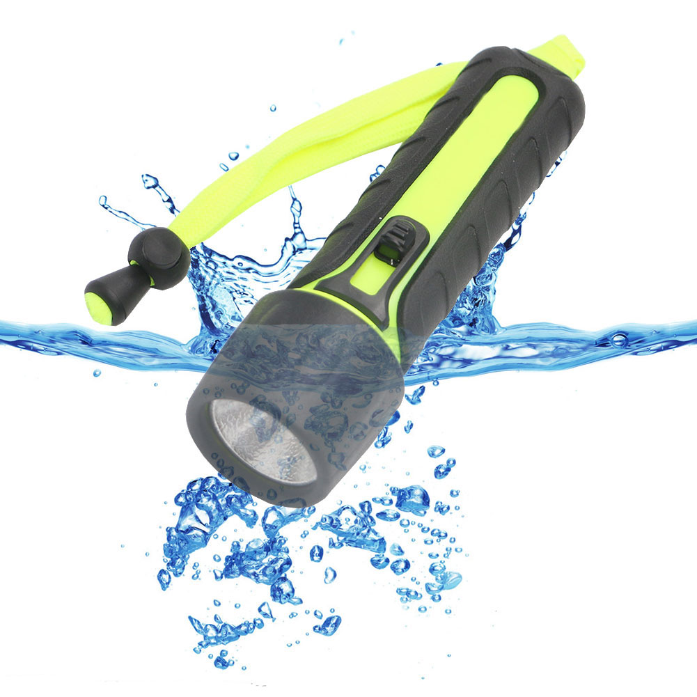 Waterproof LED Diving Flashlight 1200 Lumens CREE Q5 Diving Torch Flash Light lanttern Underwater Lights cree q5 led pocket flashlight 120lm ipx 6 waterproof torch