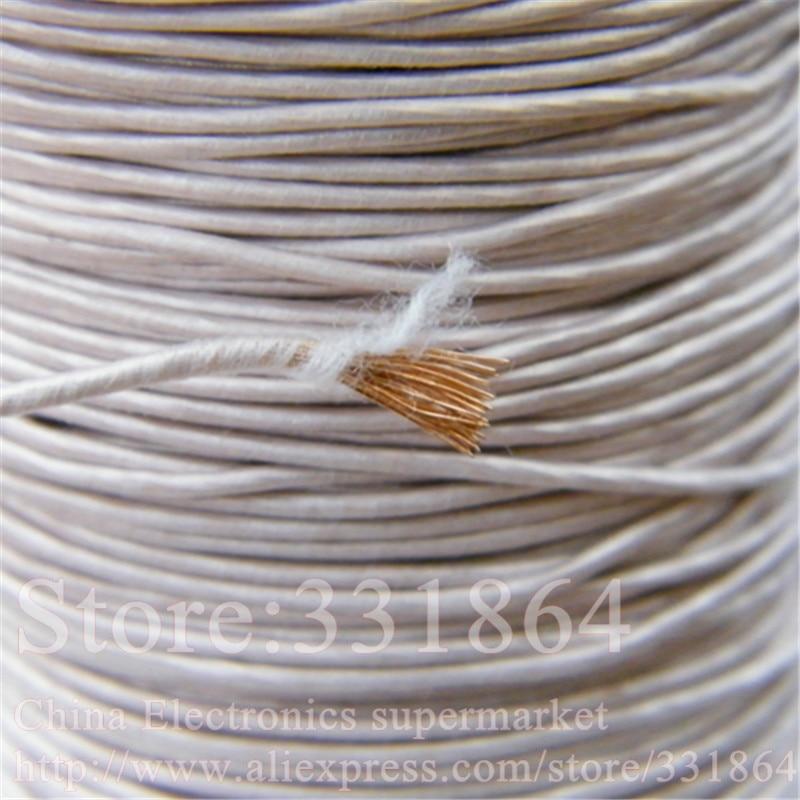 0.1mmX300 strands,(10m /pc) Mine antenna Litz wire,Multi-strand polyester silk envelope braided multi-strand wire
