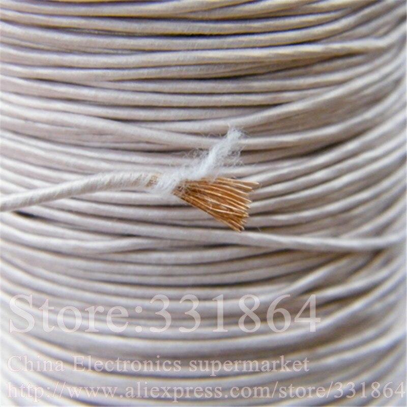 цена на 0.1mmX300 strands,(10m /pc) Mine antenna Litz wire,Multi-strand polyester silk envelope braided multi-strand wire