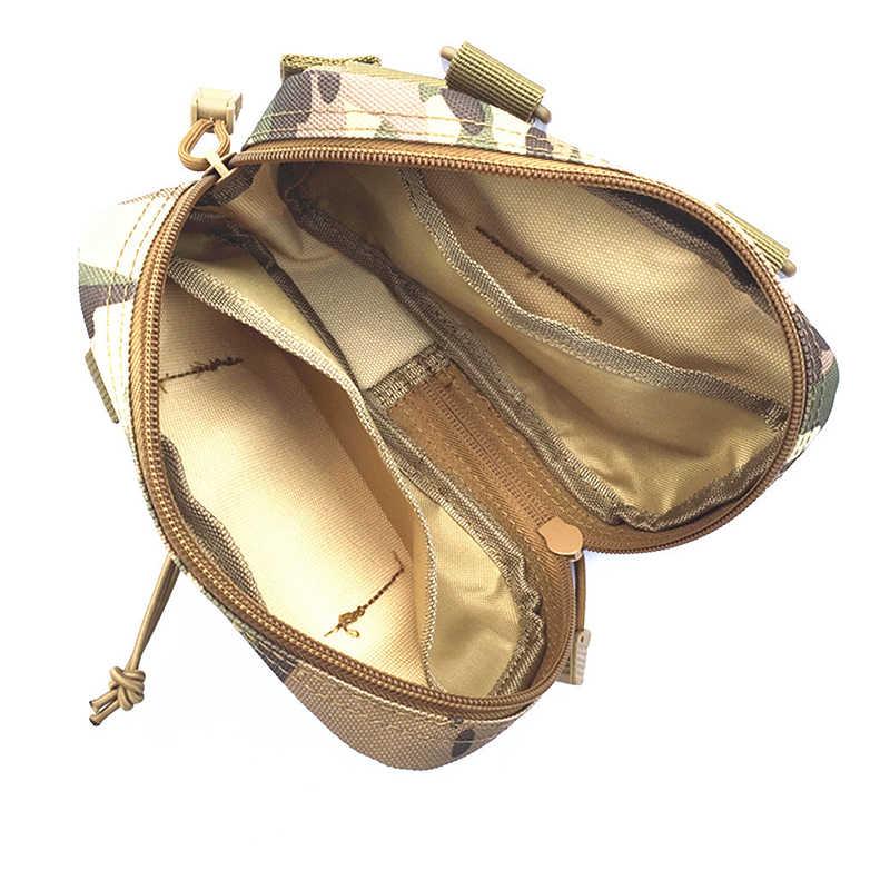 Universal Saco Ao Ar Livre Militar Tático Bolsa Molle Saco Da Cintura Fanny Pacote 1000D Sacos de Telefone Casos de Dinheiro Ao Ar Livre À Prova D' Água
