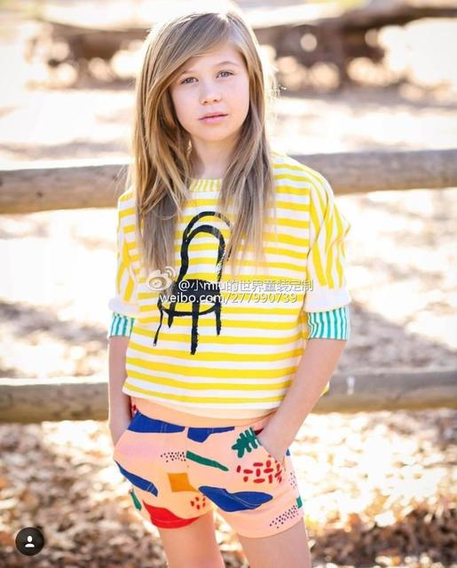 a33c8b3d7f83f 2016 autumn BOBO CHOSES long sleeved t shirts tees vetement enfant 2-7 yrs