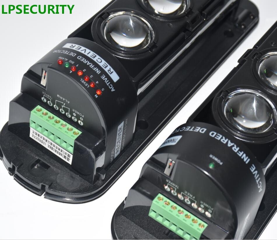 200m Range Wired Outdoor Waterproof Infrared Beam Detector, Infrared Barrier Detector