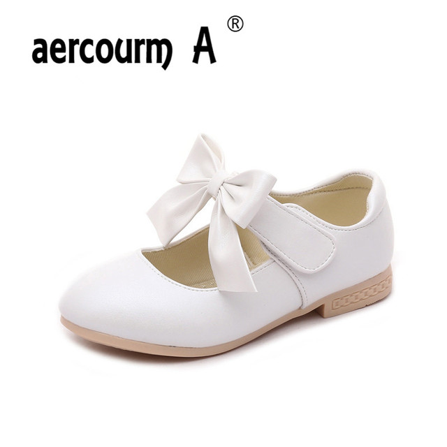 Aercourm A Children Wedding Shoes S Sneakers Princess Fashion Flat Kids Party