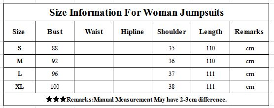 Korean Style 2019 New Women Jumpsuits High Waist Wide-leg Woman Bodysuit Rompers Womens Jumpsuit Combinaison Femme 7