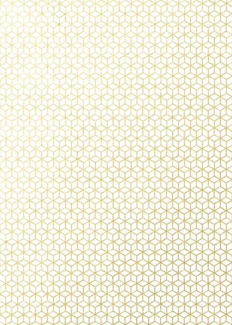 Geometric Printed Paper Wrapping Paper Set 10 Pcs
